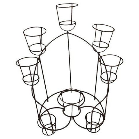 French Wrought Iron Plant Stand For Sale - Image 6 of 6