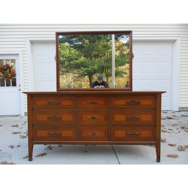 White Furniture Company Triple Dresser With Mirror Image 11 Of