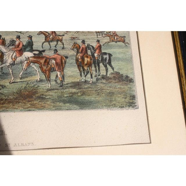 1824 Tinted Framed Engraving After Dean Wolstenholme Jr [British 1798-1882] For Sale - Image 5 of 7