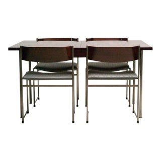 Rosewood Dining Set by Cees Braakman for Pastoe For Sale