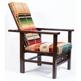 Antique Oak Child's Morris Style Chair Preview