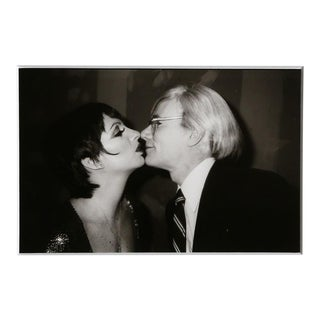 Christopher Makos, With Liza Minelli (Warhol: Ten Images), 1978 (Printed in 1989) From the series From the Warhol | Ten Images Portfolio