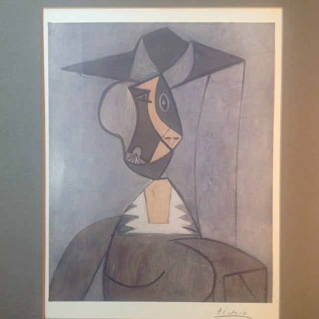 Picasso Hand Signed Abstract Print - Image 3 of 4