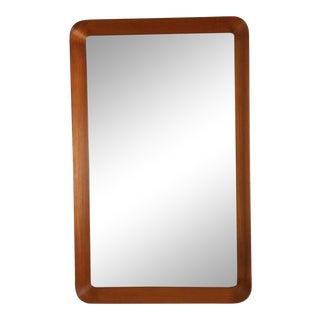 Pedersen & Hansen Viby J . Mid-Century Wall Mirror . For Sale