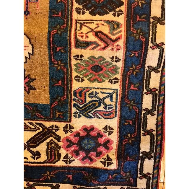 Semi-Antique Old Konya Anatolian Rug - 3'6'' x 6'2'' - Image 3 of 6