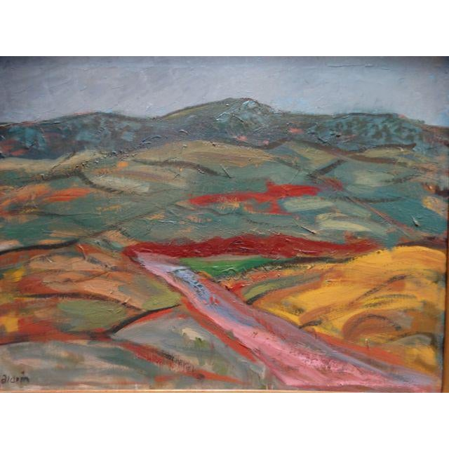 Anders Aldrin: Salinas Valley, Oil on Board - Image 4 of 7