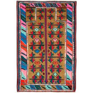 "Vintage Persian Hamadan Rug – Size: 3"" X 4' 6"" For Sale"