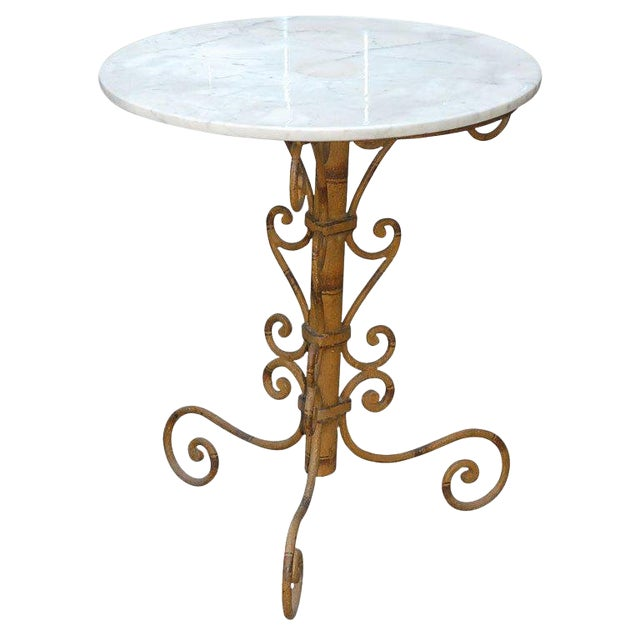 Mid 19th Century English Round Garden Table For Sale