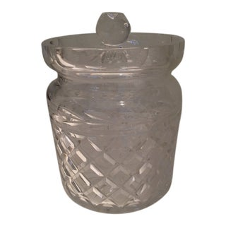 Waterford Crystal Biscuit Jar For Sale