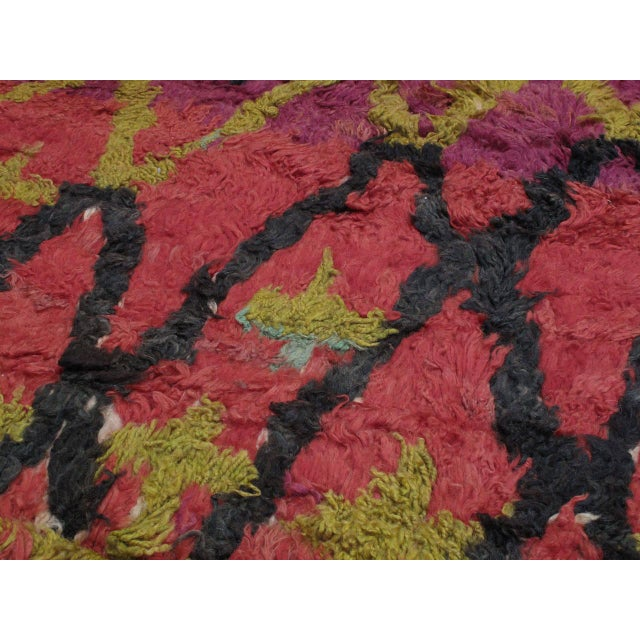 Ait Bou Ichaouen Moroccan Berber Carpet For Sale - Image 4 of 10