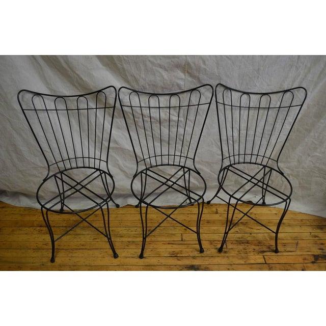 Salterini Vintage Patio Chairs - Set of 3 - Image 8 of 8