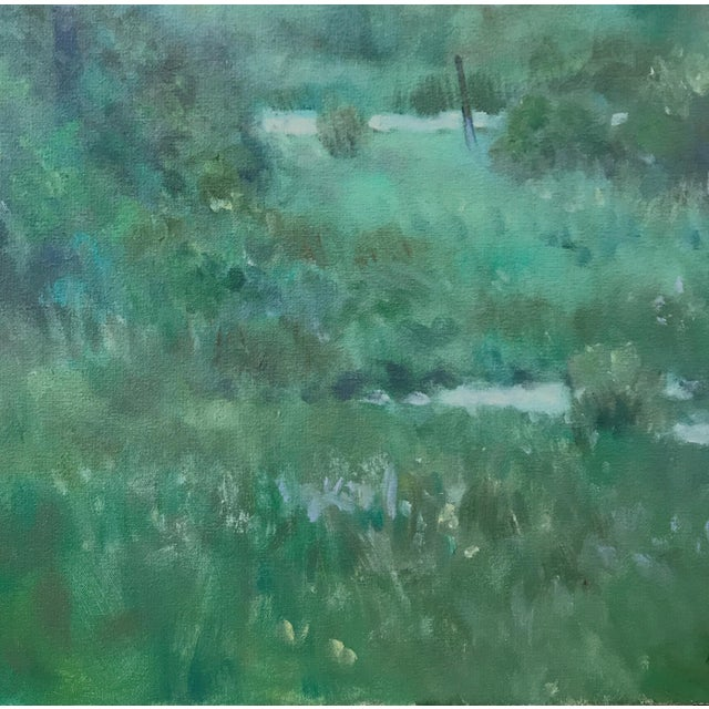 "2010s Thomas McNickle ""Elm in the Rain"" Contemporary Traditional Landscape Oil Painting For Sale - Image 5 of 10"