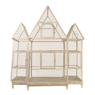 White French Chateau Birdcage For Sale