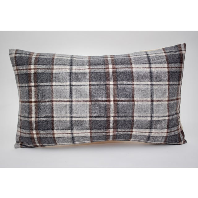 "2020s Jacques Bouvet Et Cie ""Oregon"" 20"" X 12"" Wool Pillow For Sale - Image 5 of 5"