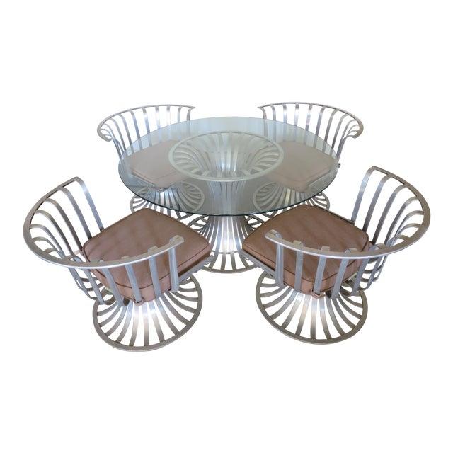Mid-Century Modern Russell Woodard Aluminum Patio Furniture - A Set - Image 1 of 9
