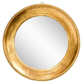 Diminutive Italian Giltwood Mirror