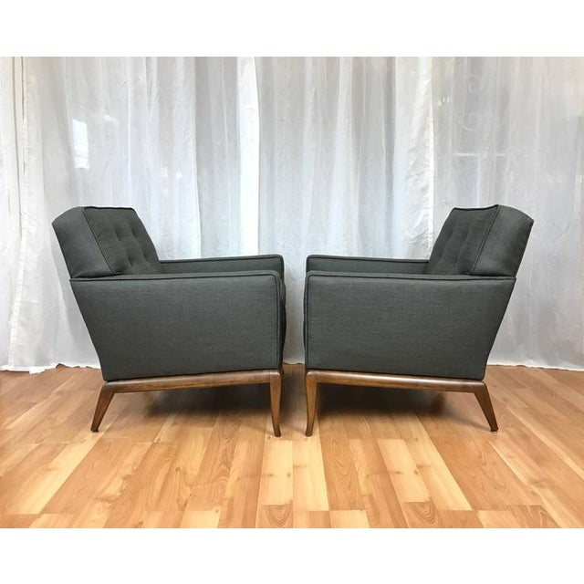 Robsjohn-Gibbings for Widdicomb Lounge Chairs - A Pair - Image 5 of 9
