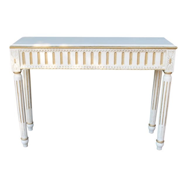 Swedish Console Table For Sale