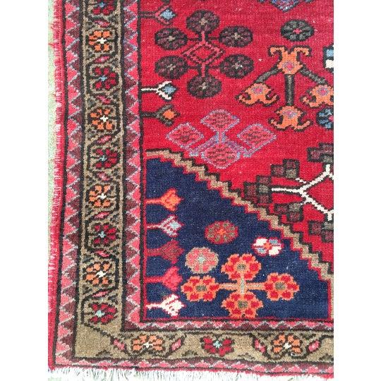 """Semi-Antique Persian Rug - 4'4"""" x 6'4"""" - Image 4 of 6"""