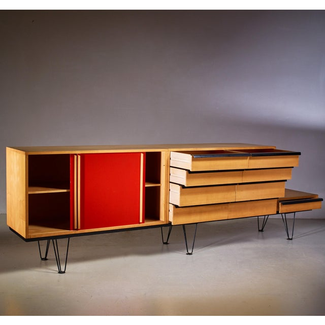 Alfred Altherr Alfred Altherr sideboard, Switzerland, 1950s For Sale - Image 4 of 6