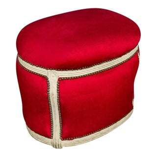 20th Century, French Footstool with Built in Dog Bed
