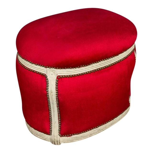 20th Century, French Footstool with Built in Dog Bed - Image 1 of 9