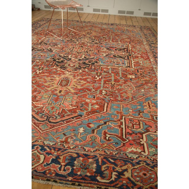 "Antique Heriz Carpet - 8'5"" X 11'3"" - Image 5 of 7"