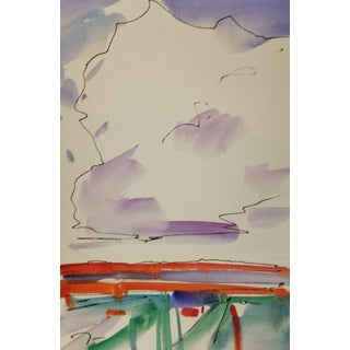 Jose Trujillo Artist Collectible Original Watercolor Painting Study Size Medium For Sale