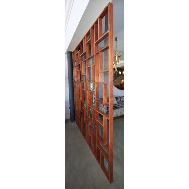 Not Yet Made - Made To Order Mid Century Modern Geometric Room Divider For Sale - Image 5 of 8