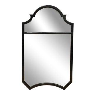 Ebonized Queen Anne Style Designer Mirror
