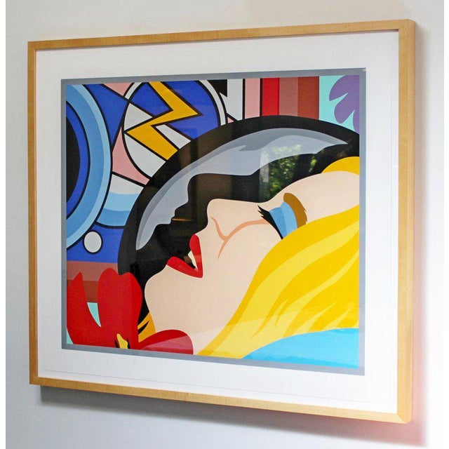 Expressionism Bedroom Face With Lichtenstein Signed Tom Wesselmann Numbered 5/60 1997 For Sale - Image 3 of 8