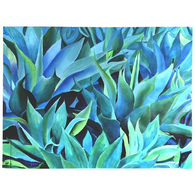 California Cascade Acrylic Painting - Image 1 of 7