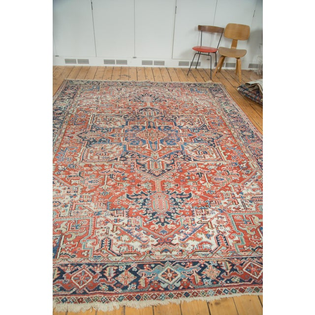 Vintage Heriz Carpet- 8′2″ × 11′ - Image 4 of 8