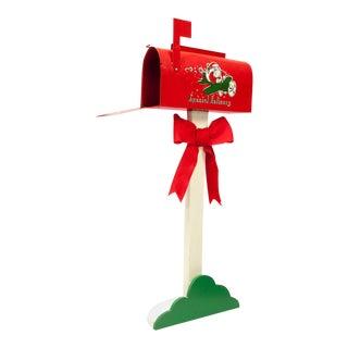Vintage Santa Mailbox For Sale