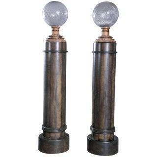 Unique Pair of Columns For Sale