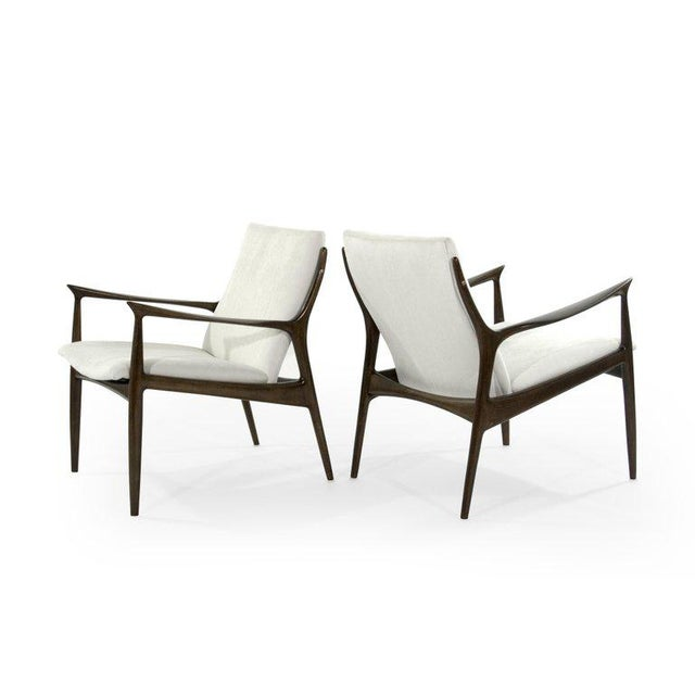 Lounge Chairs by Ib Kofod-Larsen For Sale - Image 10 of 13