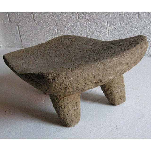 Mid 19th Century Two piece 19th Century Grinding Stone/Matate For Sale - Image 5 of 6