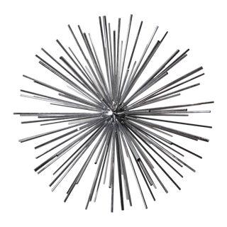 1970s Chrome Sputnik Sculpture by Curtis Jeré For Sale