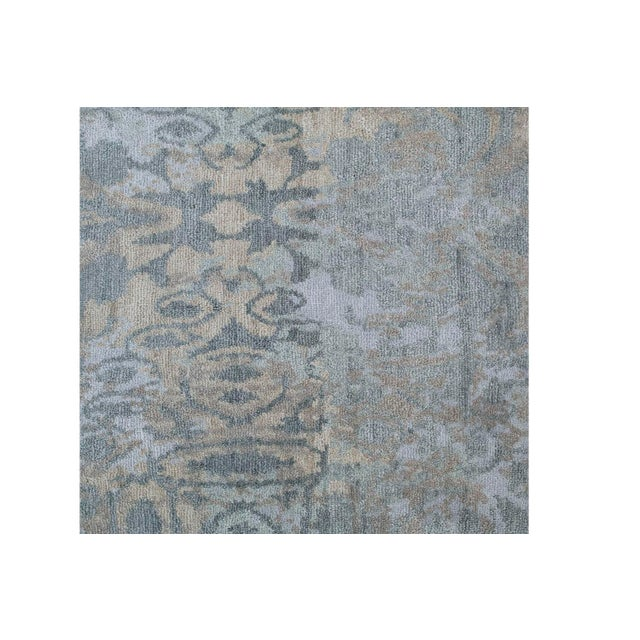 Contemporary Modern Wool Runner Rug - 2' X 10' For Sale - Image 3 of 4