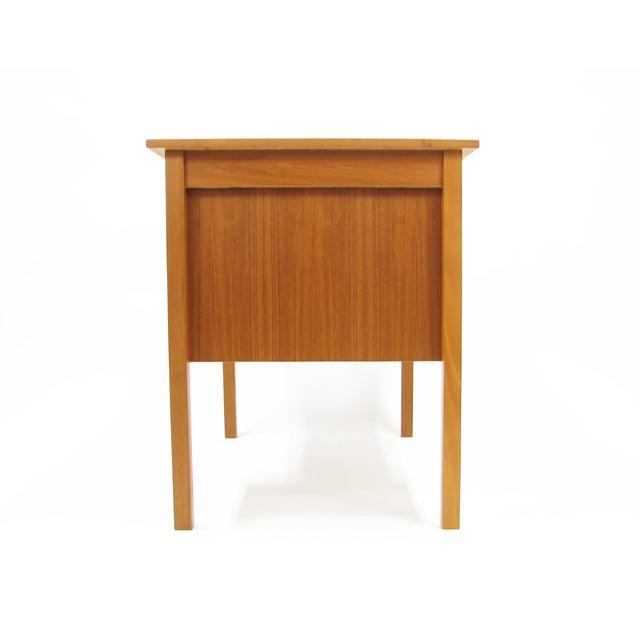 1960's Vintage Ejsing Møbelfabrik Teak Writing Desk For Sale - Image 9 of 11