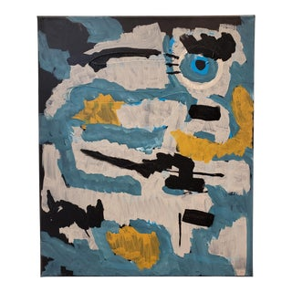 Contemporary Abstract Painting by Artist Lionel Lamy For Sale