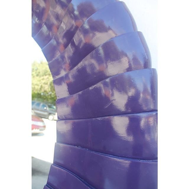 Sunburst Purple Wall Mirror - Image 10 of 11