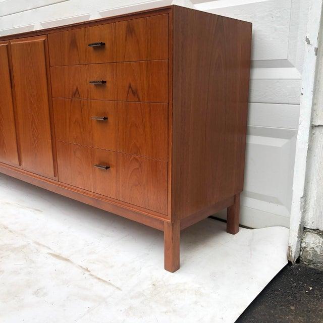Wood Scandinavian Modern Teak Sideboard by Vamo Sonderborg For Sale - Image 7 of 13