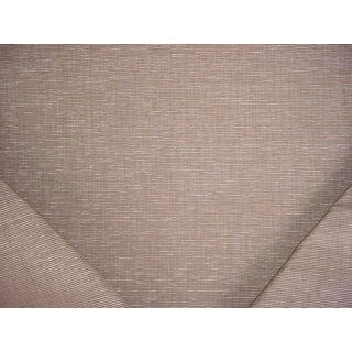 3-5/8y Robert Allen Beacon Hill 230592 Patta Ottoman Flax Silk Upholstery Fabric For Sale