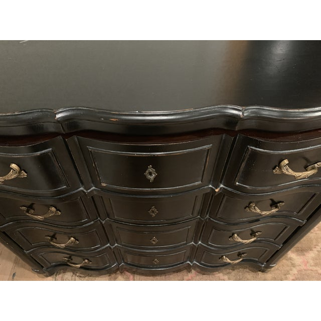 Williams-Sonoma Exclusive French Ebony Dresser For Sale In San Francisco - Image 6 of 9