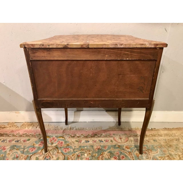 Louis XVI Style Side Table For Sale - Image 4 of 9