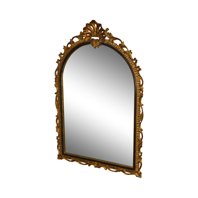 Dauphine Harrison & Gil Gold Gilt Wood Rococo Carved Wall Mirror For Sale - Image 13 of 13