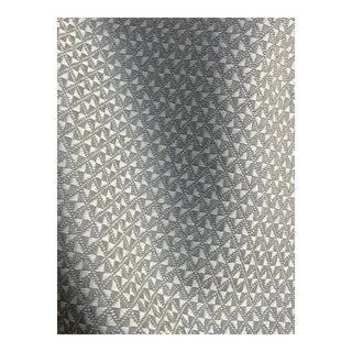 "Holland & Sherry ""Best Kept Secret"" Mini Geometric Fabric - 5 3/4 Yards For Sale"