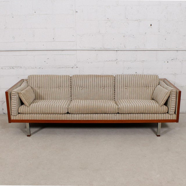 Jydsk of Denmark Interform Collection Teak Case Sofa - Image 4 of 8
