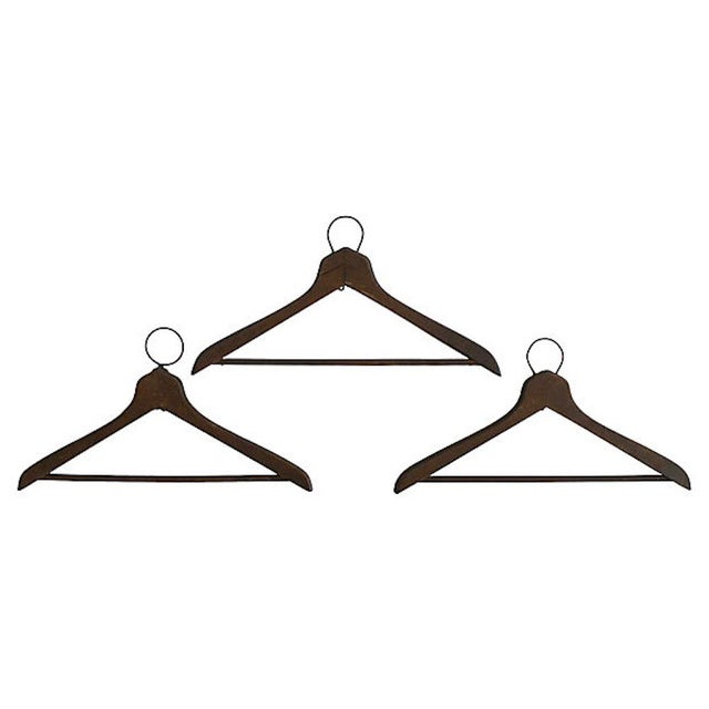 1930s 1930s Coat Check Numbered Hangers, Set of 6 For Sale - Image 5 of 6